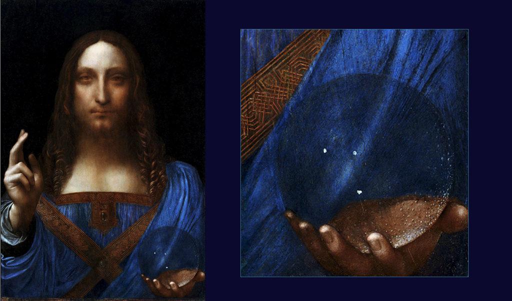 картина леонардо да винчи спаситель мира фото